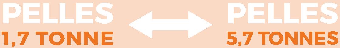 Pelles mécaniques pour mini-excavation